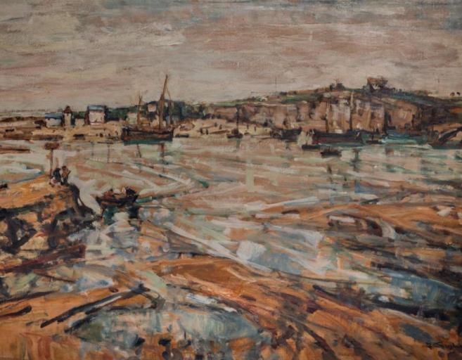 Kat. Nr. 14 | Julius Seyler (1873-1958) | Hafen von Le Pouldu