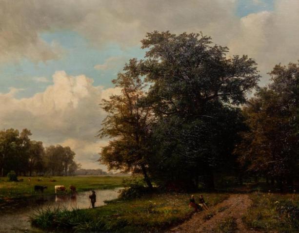 Kat.-Nr. 8 | Unbekannt | Landschaft, 1909